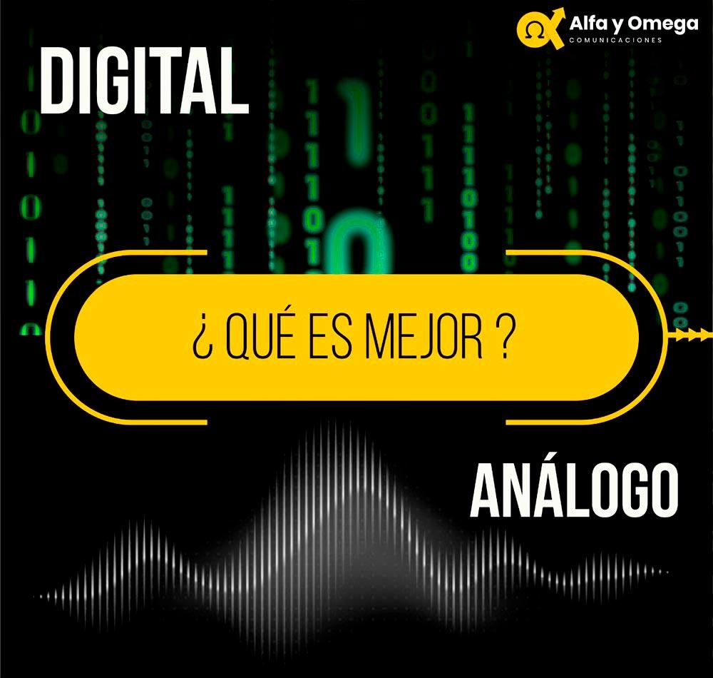 Radios Digitales Análogos