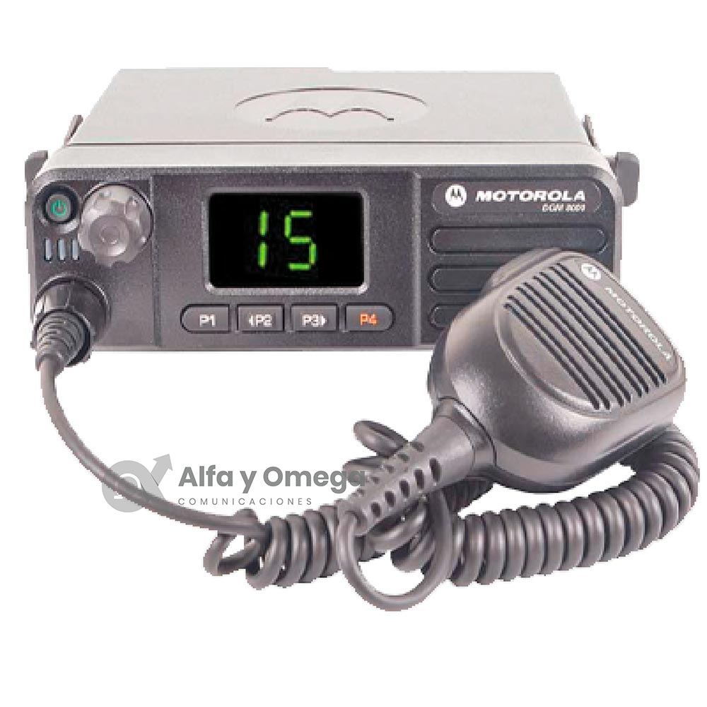 DGM5000 - DGM8000 Radio Base Movil Motorola