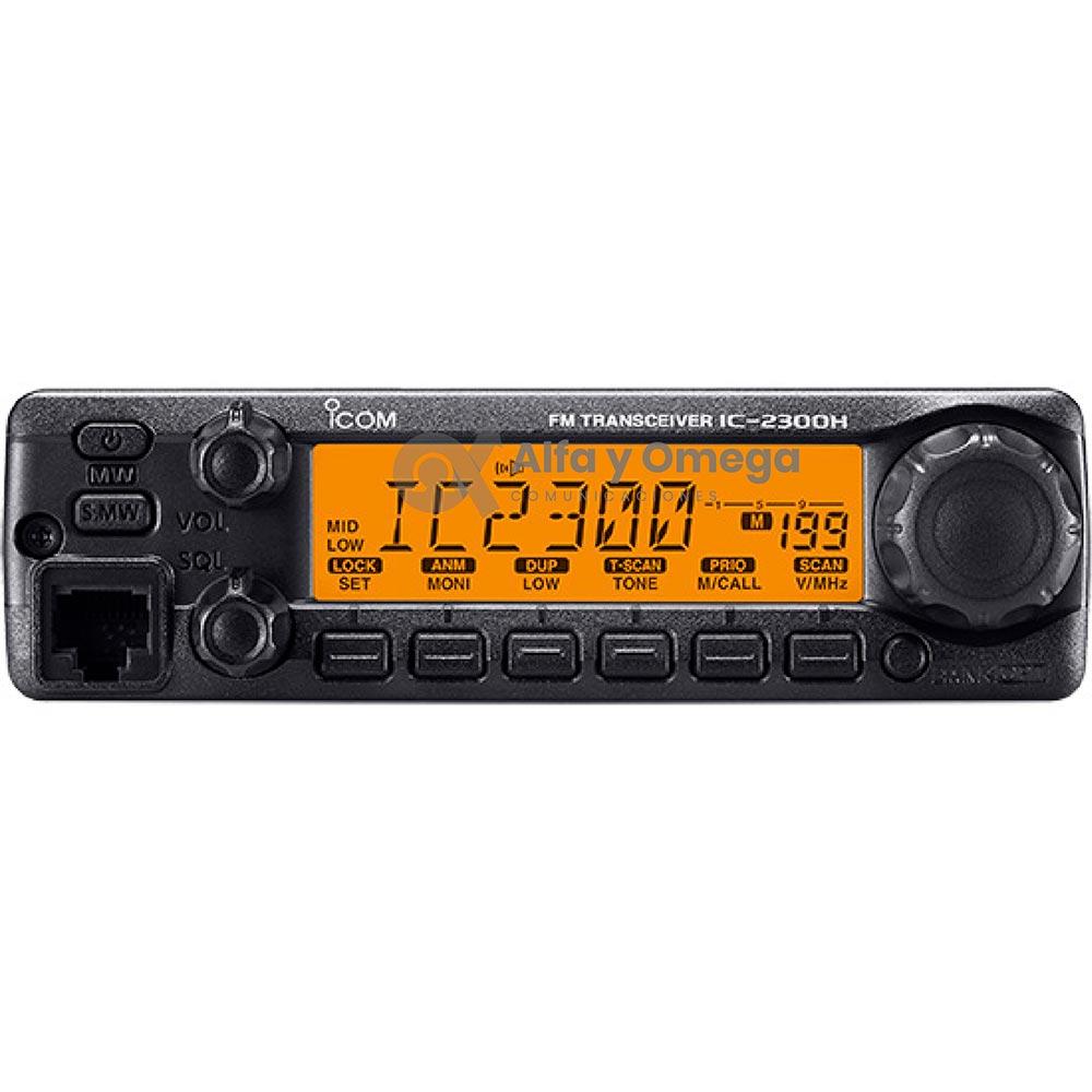 IC2300 Radio Base Móvil ICOM Aficionado