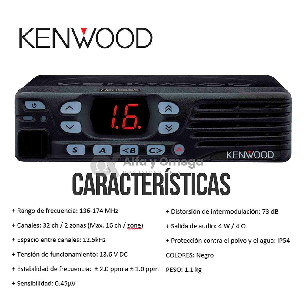 TKD740 TKD840 Radio Base Movil Kenwood