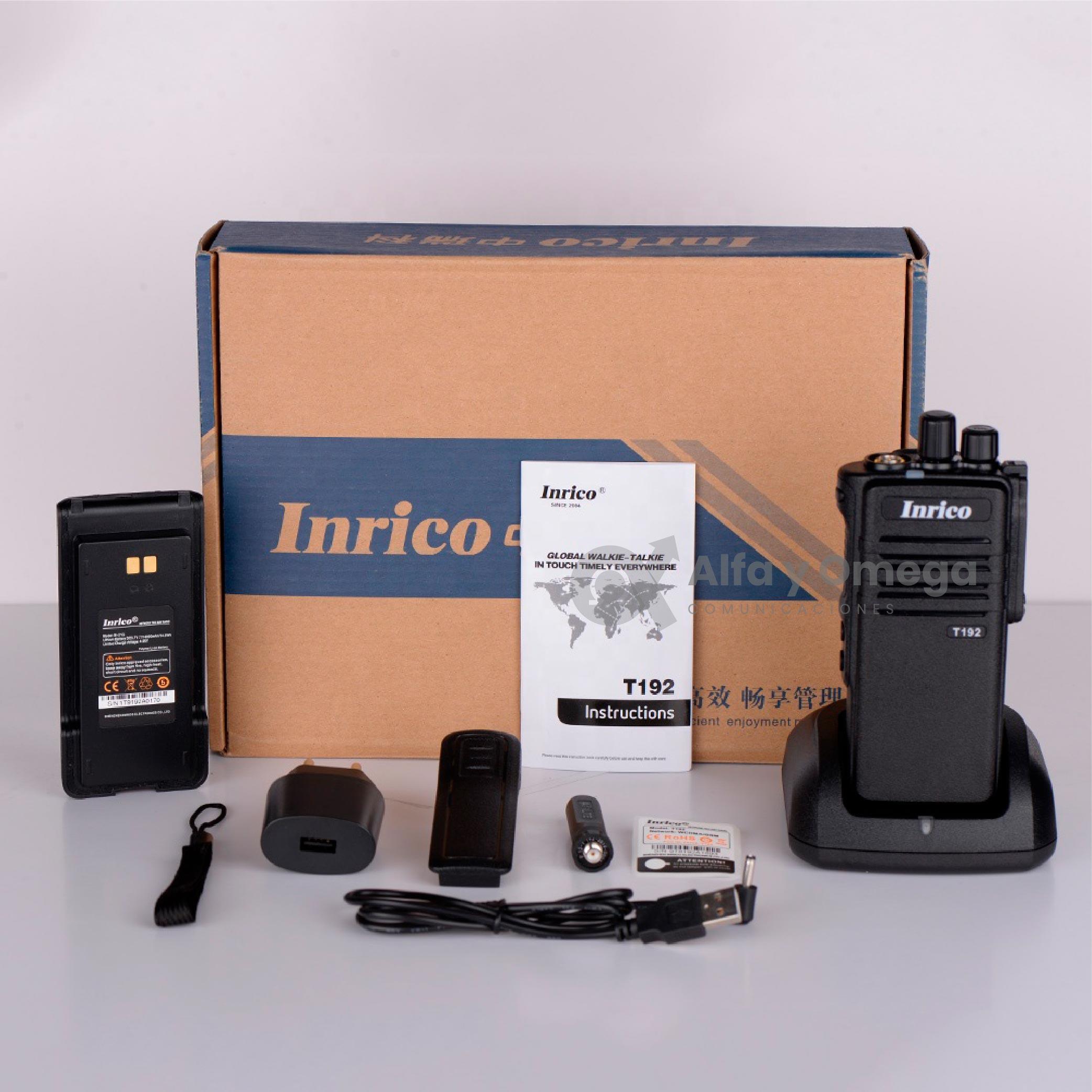 Radio PoC Inrico T192