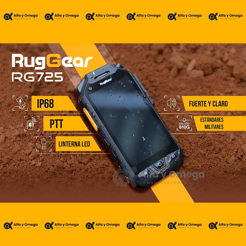 Radio PoC RugGear RG725